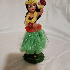 Other - Vintage 1960's Hula Girl bobble dash dancer